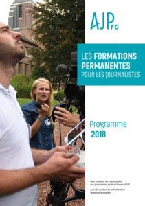 Le programme 2018 des formations