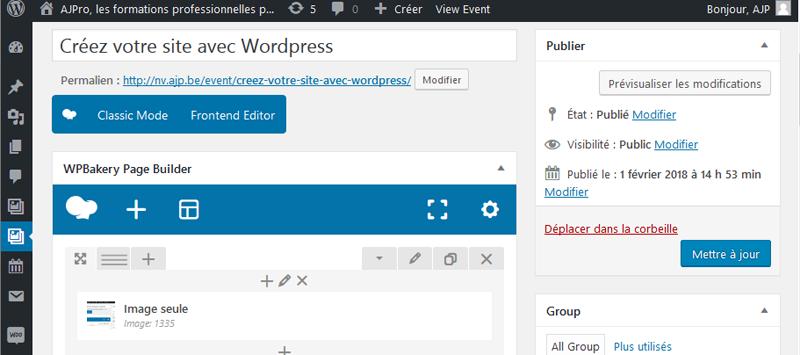 Créez votre site avec WordPress