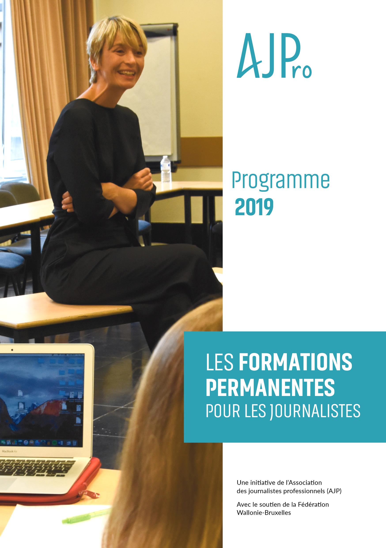 Le programme des formations