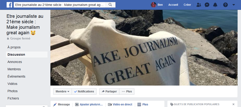 Paramétrage, animation et modération d'un groupe Facebook